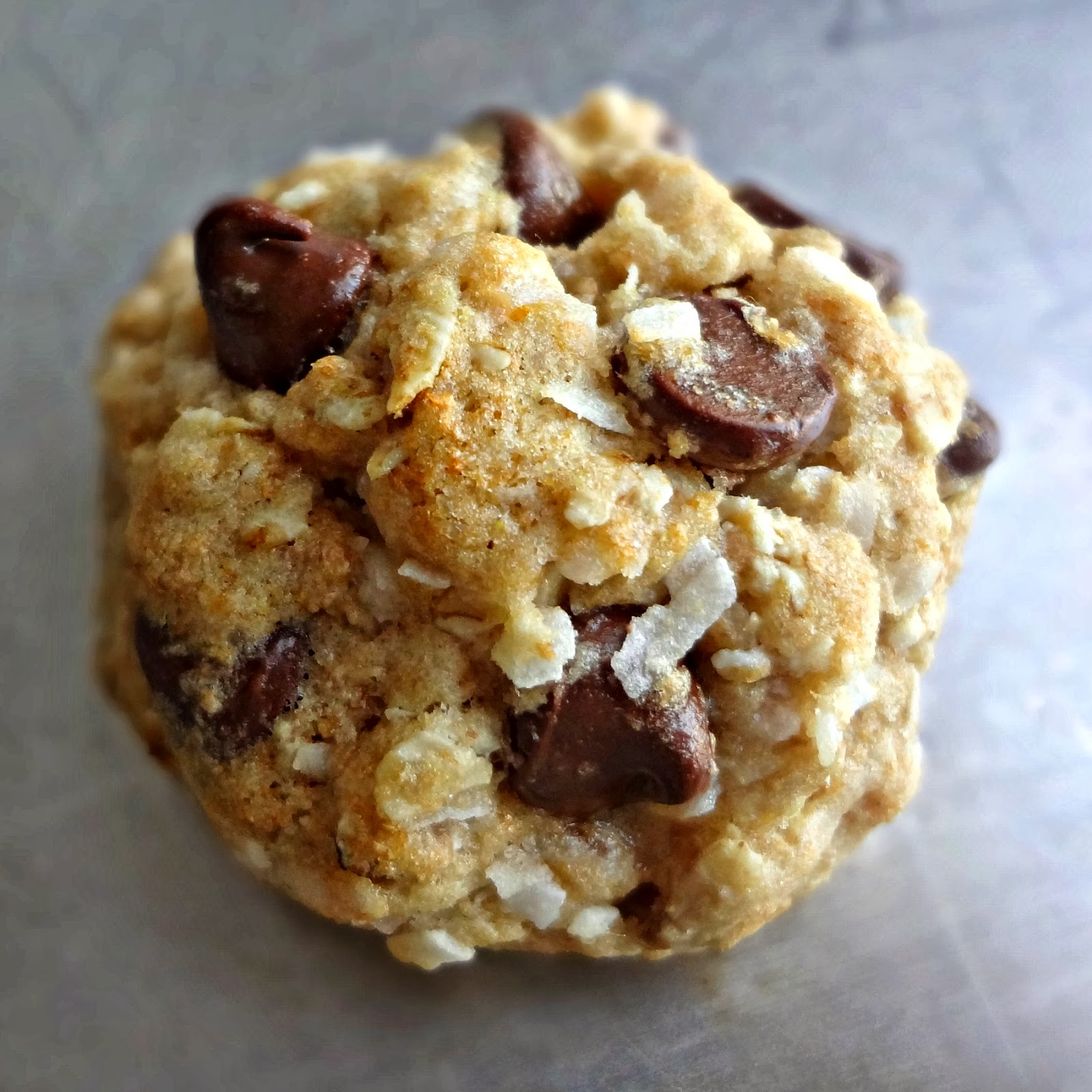 The Cooking Actress: Coconut Oatmeal Chocolate Chip Cookies