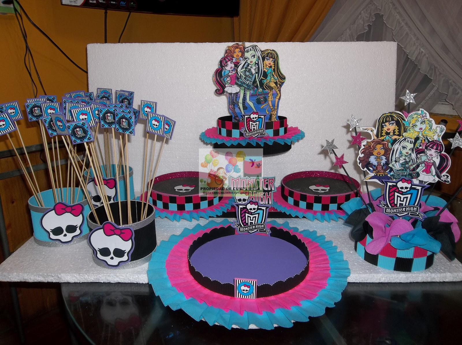 Decoraciones De Monster High