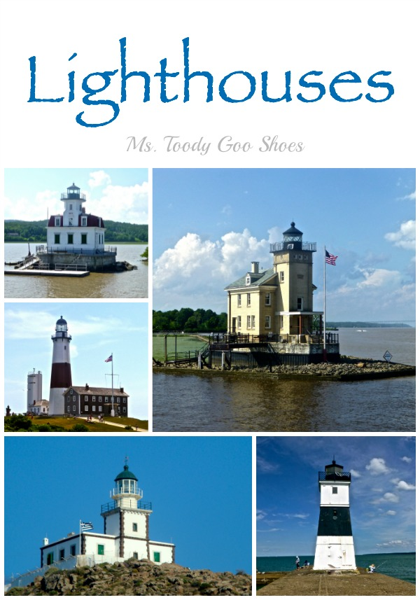 Lighthouses  ---- Ms. Toody Goo Shoes