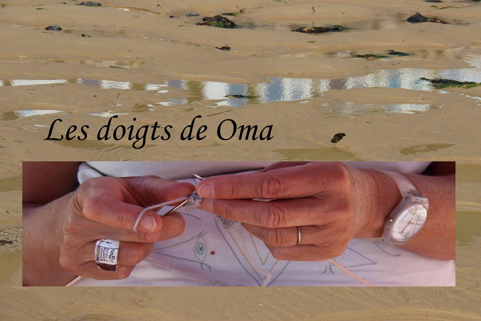 Les doigts de Oma