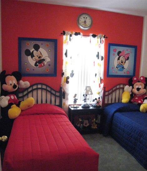 chambre Mickey mouse  idées déco pour maison moderne
