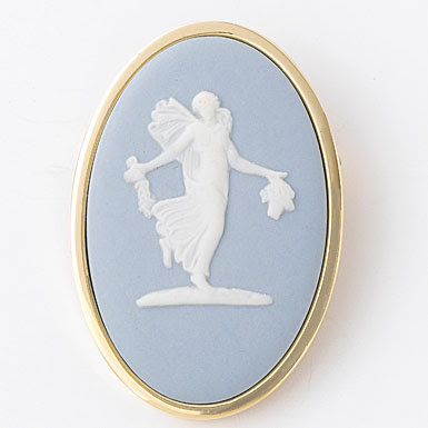 Cameo Pill Box Wedding Depot Wedgwood Muse Brooch Crystal Classics