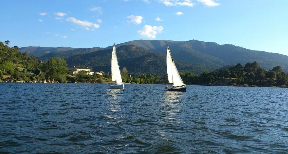 Navegar en El Burguillo-Iruelas