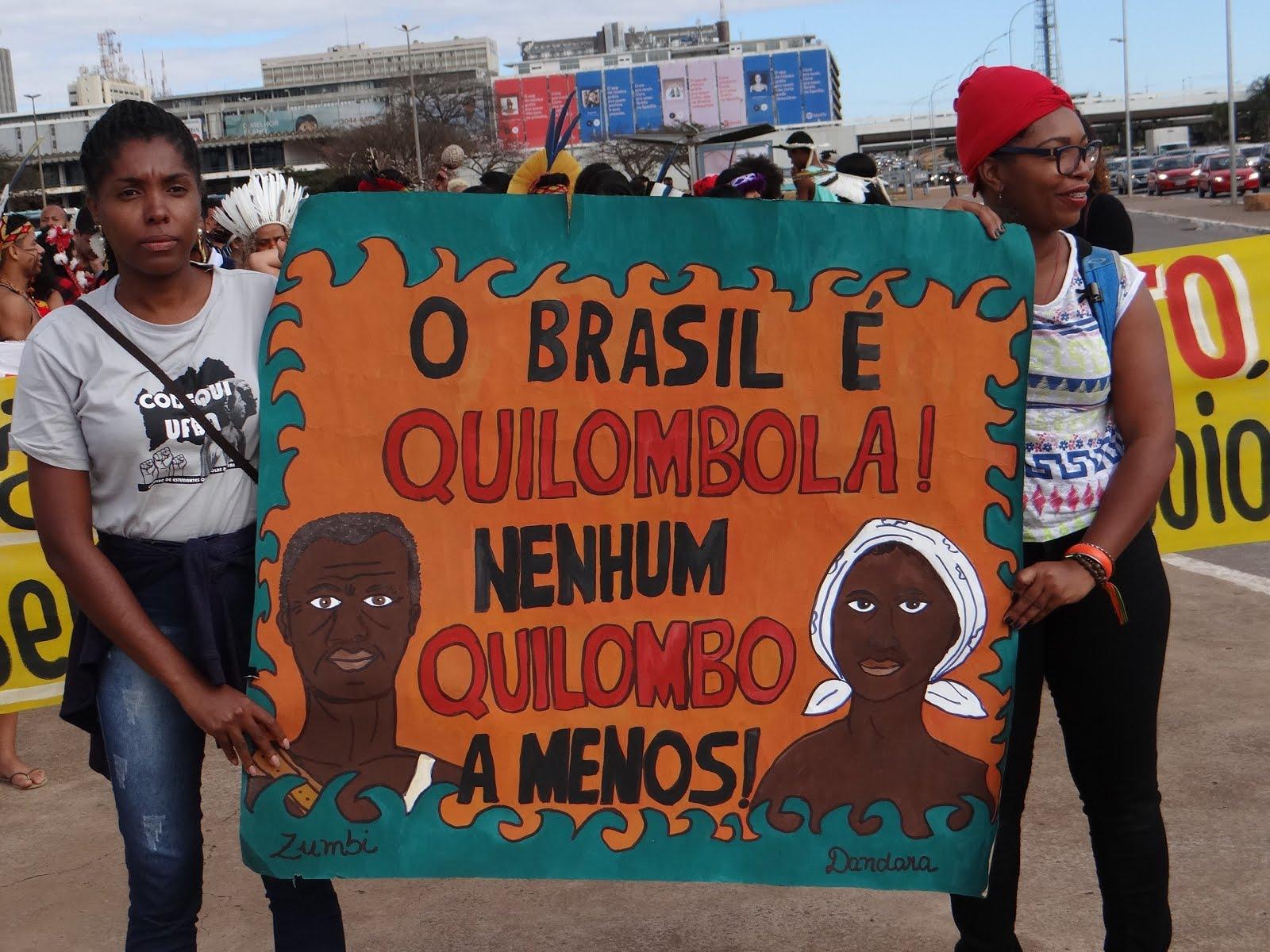 Mobilização Estudantes Indigenas e Quilombolas