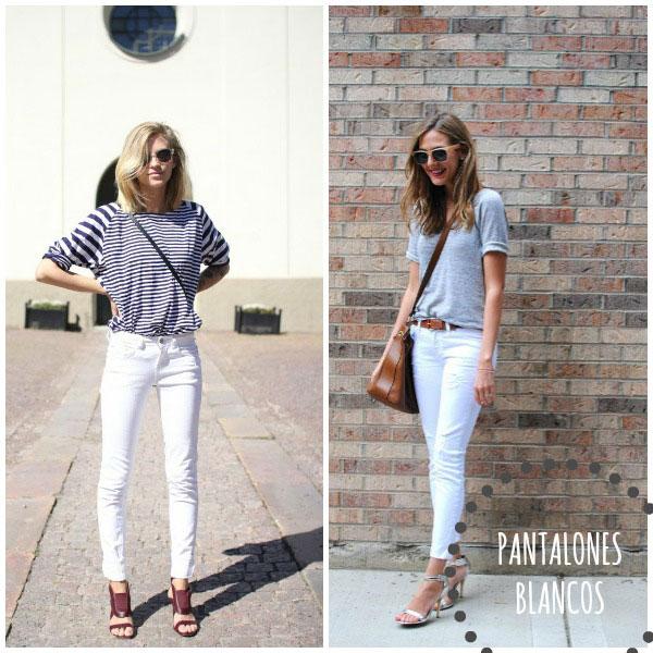 pantalones blancos tendencias