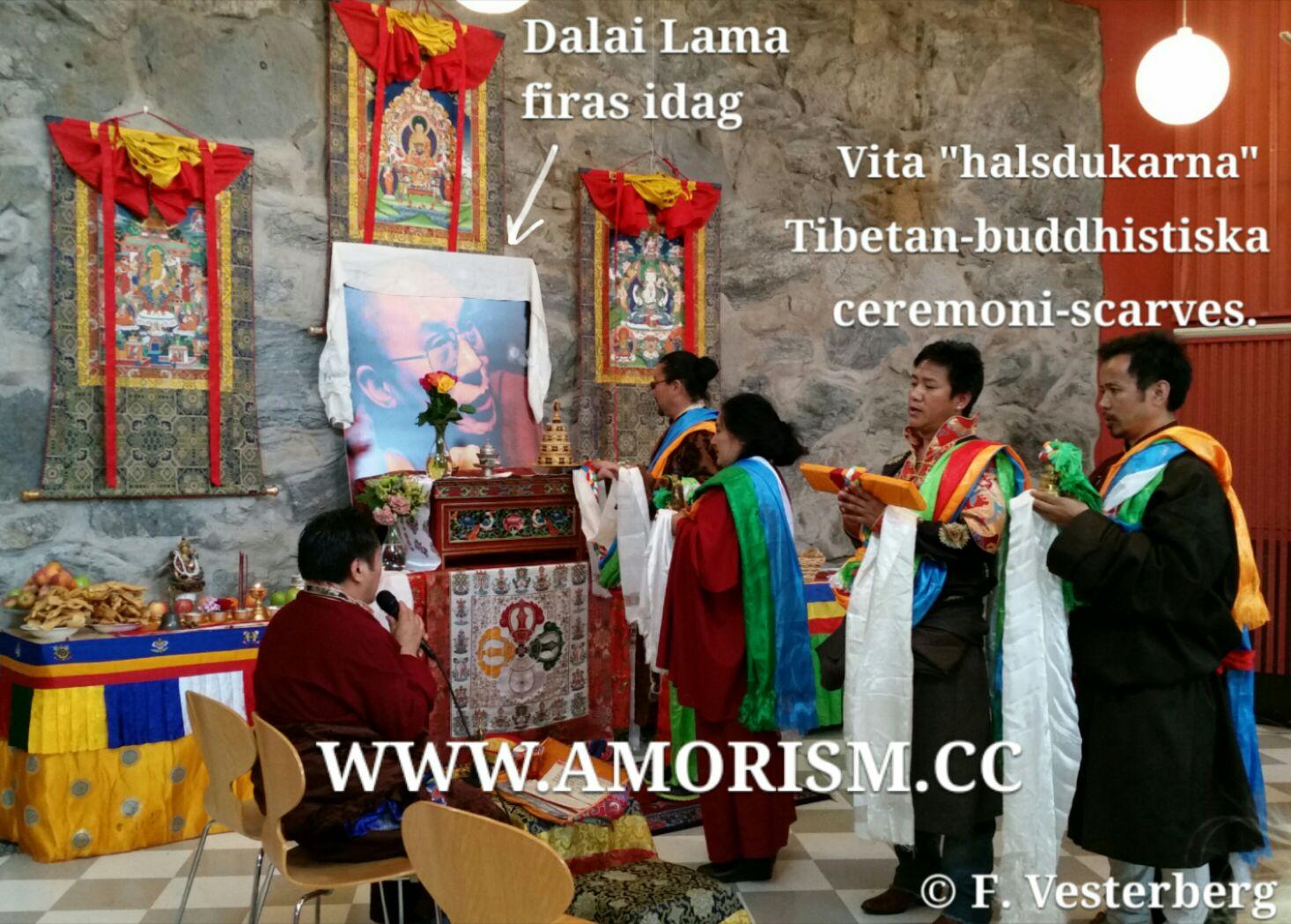 Bild på Tibetansk buddhism ceremoni