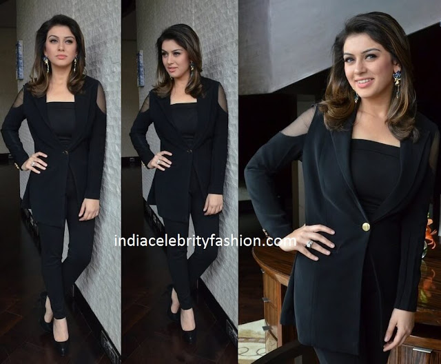 Hansika in Designer Separates