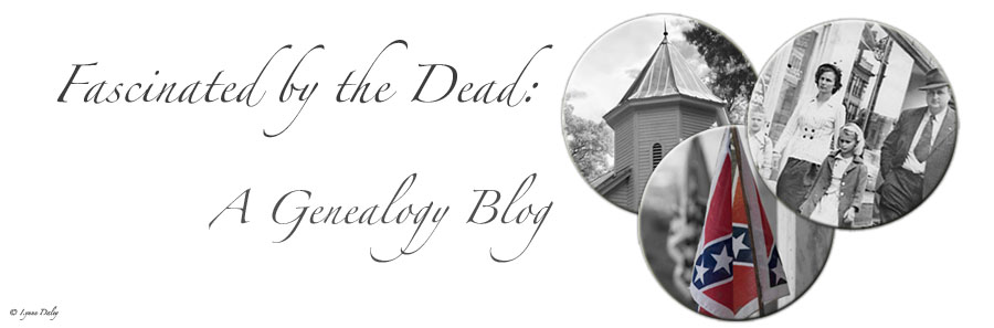 Fascinated by the Dead:A Genealogy Blog