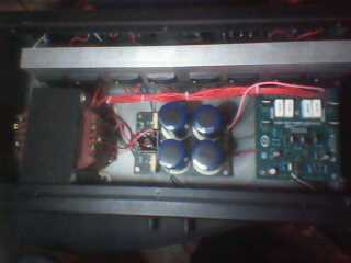 Diatas adalah tahapan tahapan perakitan power Amplifier yang saya buat