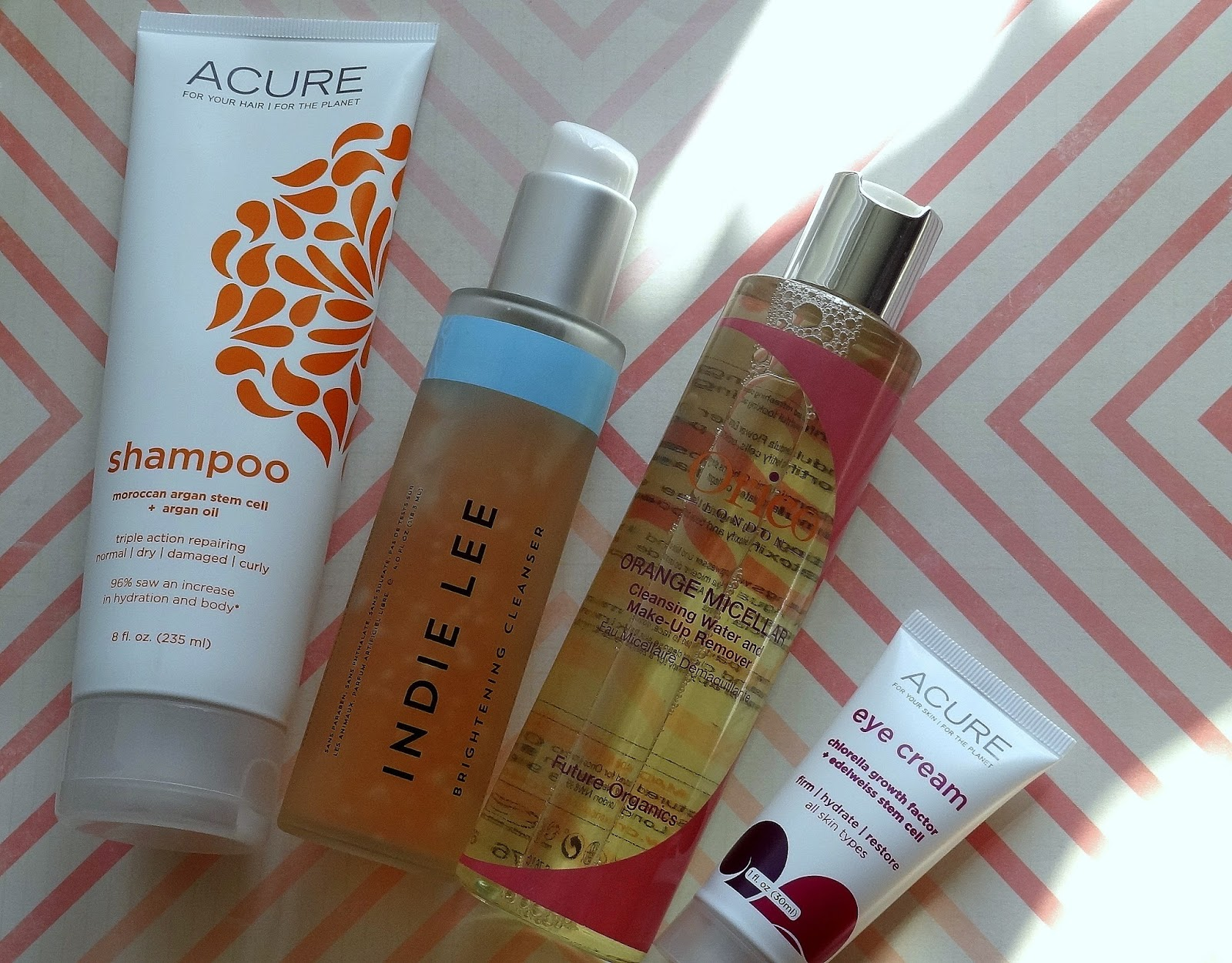New Natural Beauty Buys + Quick Reviews | Indie Lee, Acure & Orico