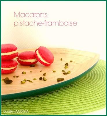 image-Macarons pistache-framboise