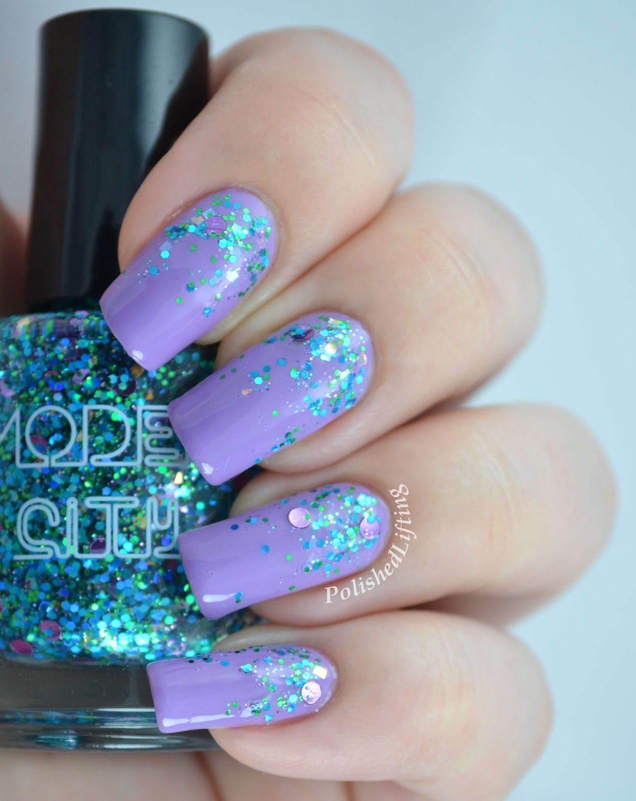 Model City Polish Elements of Spring OPI Do You Lilac It
