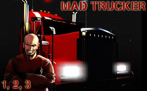لعبة الشاحنة الغاضبة