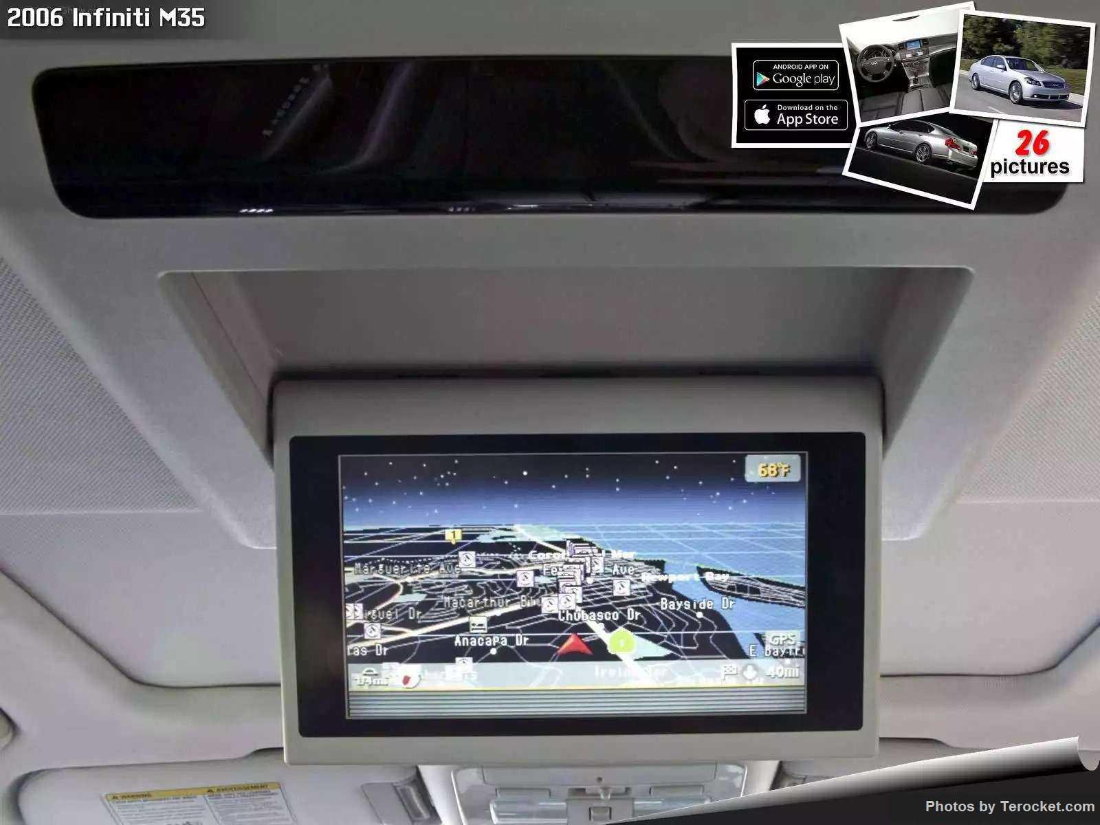 Hình ảnh xe ô tô Infiniti M35 2006 & nội ngoại thất