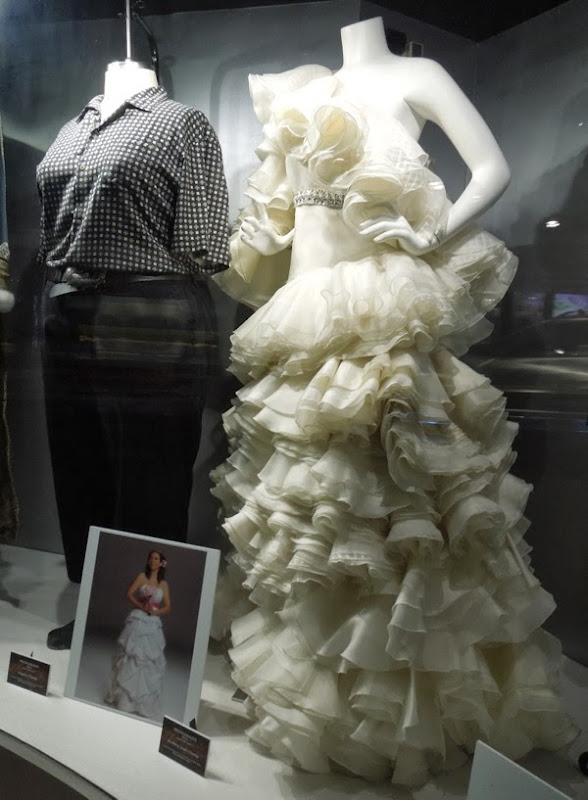 Bridesmaids movie costume exhibit