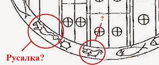 изображение русалки на звездных вратах шри-ланки, памятнике доисторической культуры