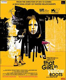 That Girl in Yellow Boots (2011 - movie_langauge) - Kalki Koechlin, Naseeruddin Shah, Gulshan Devaiya, Divya Jagdale, Kartik Krishnan, Kumud Mishra, Prashant Prakash, Shivkumar Subramaniam, Pooja Swaroop, Thani