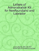 Letters of Administration Kit for NL
