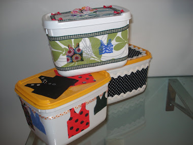 Embalagem : Reutilizando e Reciclando