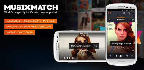 MusiXMatch Android App