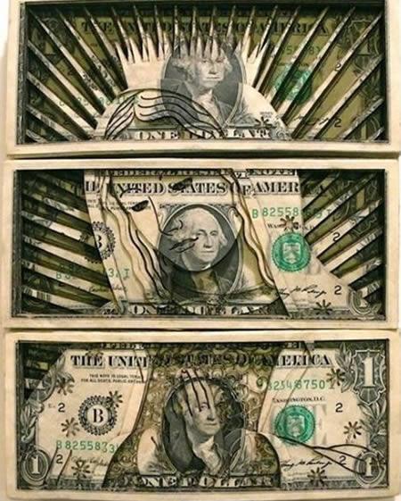 karya seni uang