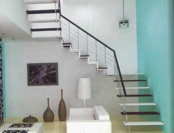 Gambar Tangga Rumah Minimalis Modern & Contoh Gambar Tangga Rumah Minimalis Modern Eropa | Aku Rumah Bagus