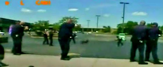 The video was released two years after the incident by the ACLU. (Screen capture from video)