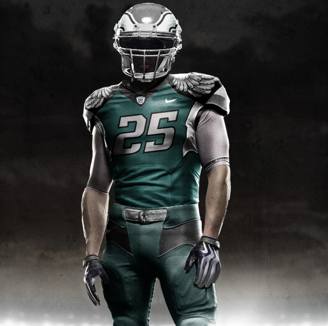 Thursday  September 22  2011New Eagles Uniforms
