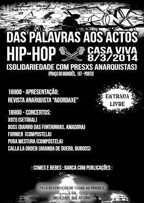 Porto 8/3 Hip Hop Solidario