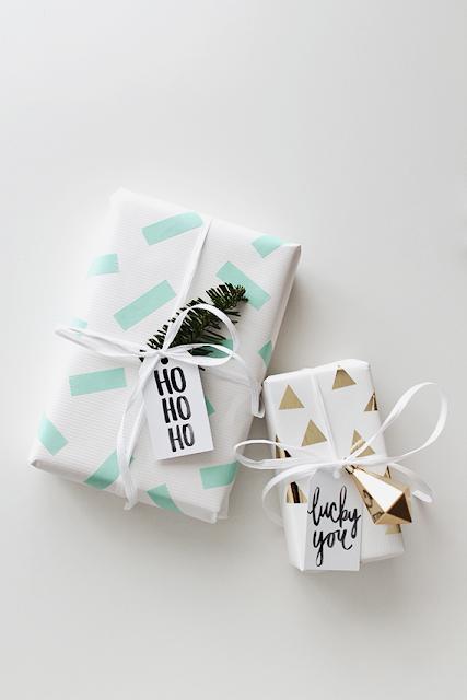 Decora tus regalos estas navidades con whasi tape