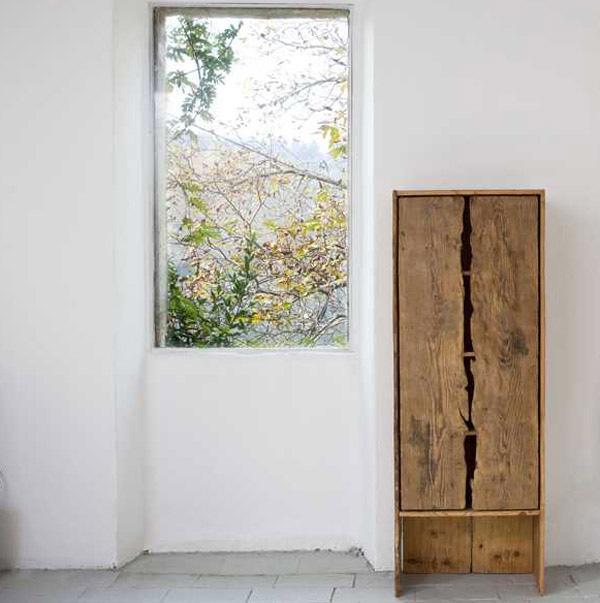 Rustik chateaux muebles de madera reciclada volver a lo for Diseno de muebles con madera reciclada
