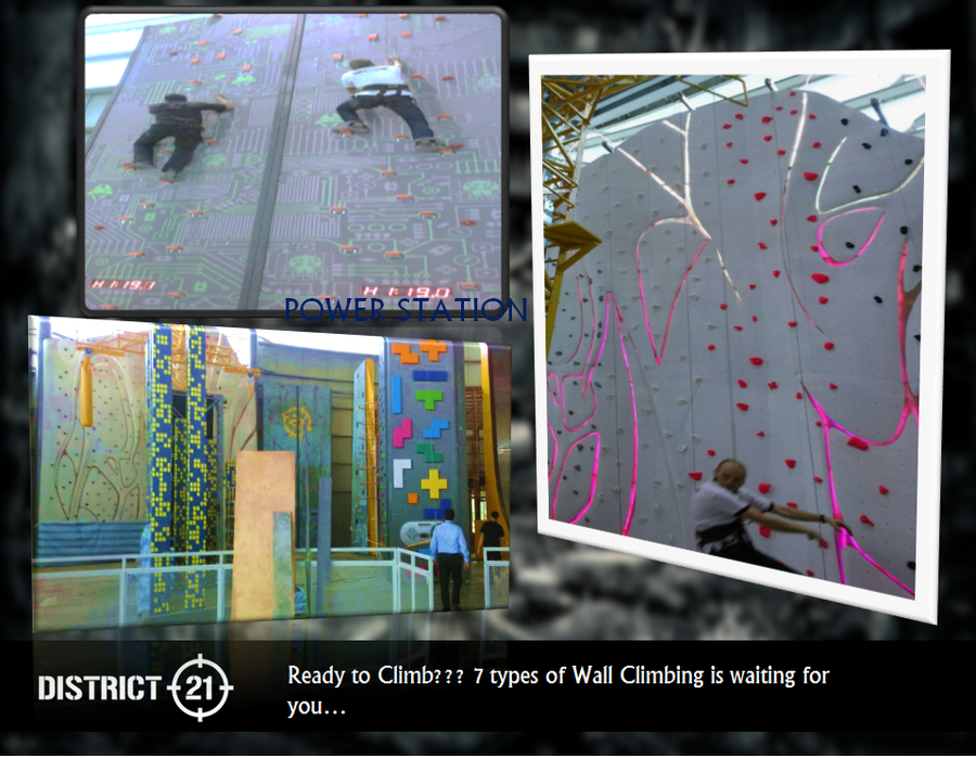 Wall Climbing/Power Station @ District 21