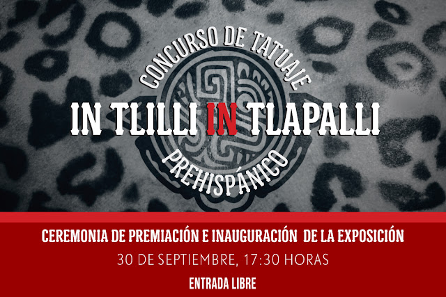 Exposición fotográfica sobre tatuajes prehispánicos en el CCU Tlatelolco