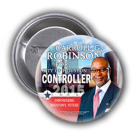 CARROLL G. ROBINSON SAID YES WHEN ASKED IF HE VALUED OUR VOTE, PRAYERS, COMMUNITY AND SUPPORT
