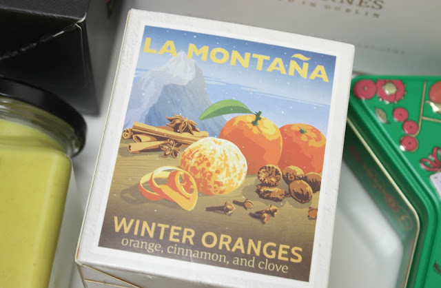 A picture of La Montana Winter Oranges Candle