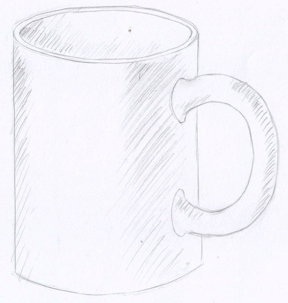 drawspace lesson f13 how to properly draw and shade a mug