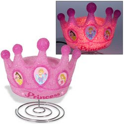 Disney Princess Crown Lamp