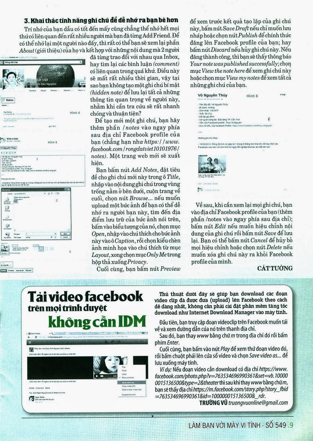 Làm Bạn Với Máy Vi Tính – 549 - tapchicntt.com