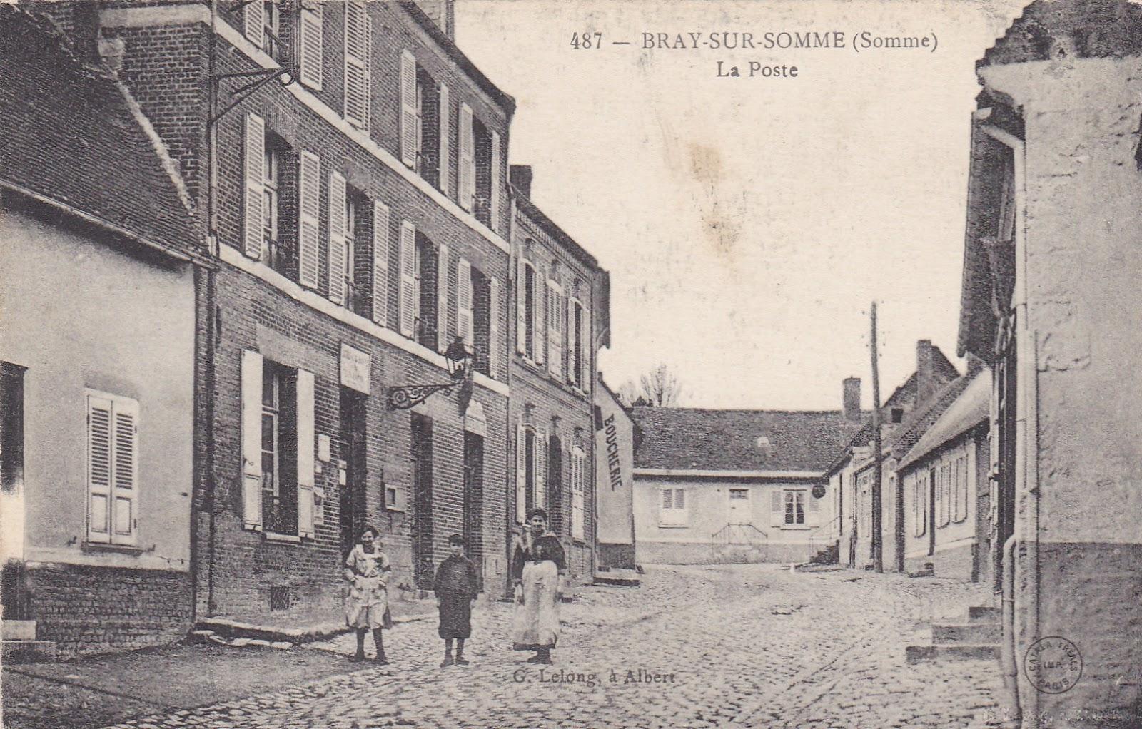 Old postcards france