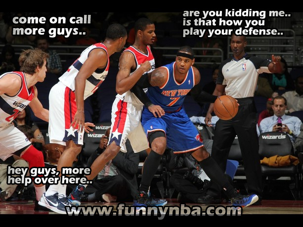Knicks Wizard Carmelo Anthony Defender Finals Funnynba Funny