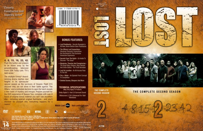 MEGAPOST Lost T1-6 DvdRip Latino y 3gp + Extras - Identi