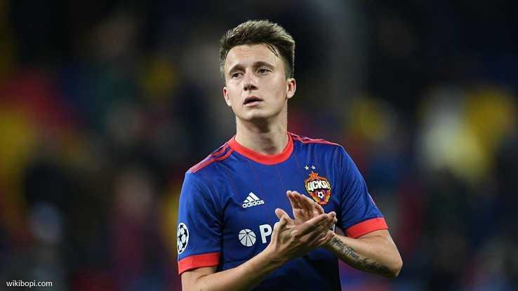 Juventus Terdepan di dalam Perburuan Aleksandr Golovin