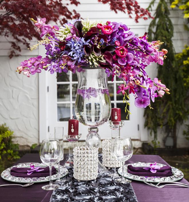 25 stunning wedding centerpieces part 10 belle the for Centerpiece arrangements for weddings