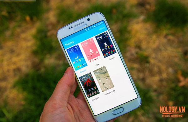 Màn hình 2k của Samsung Galaxy S6 Edge