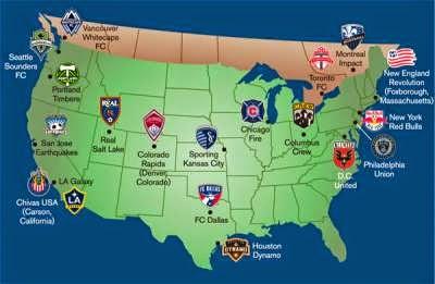 MLS Map