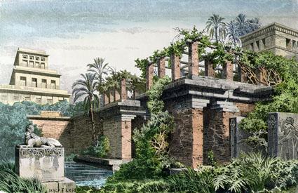 Le site de l 39 histoire babylone cit ternelle for Jardin suspendu babylone