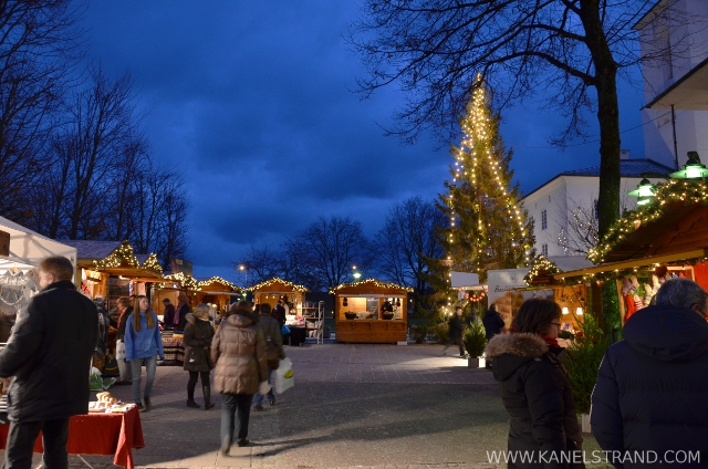 Christmas market in Norway