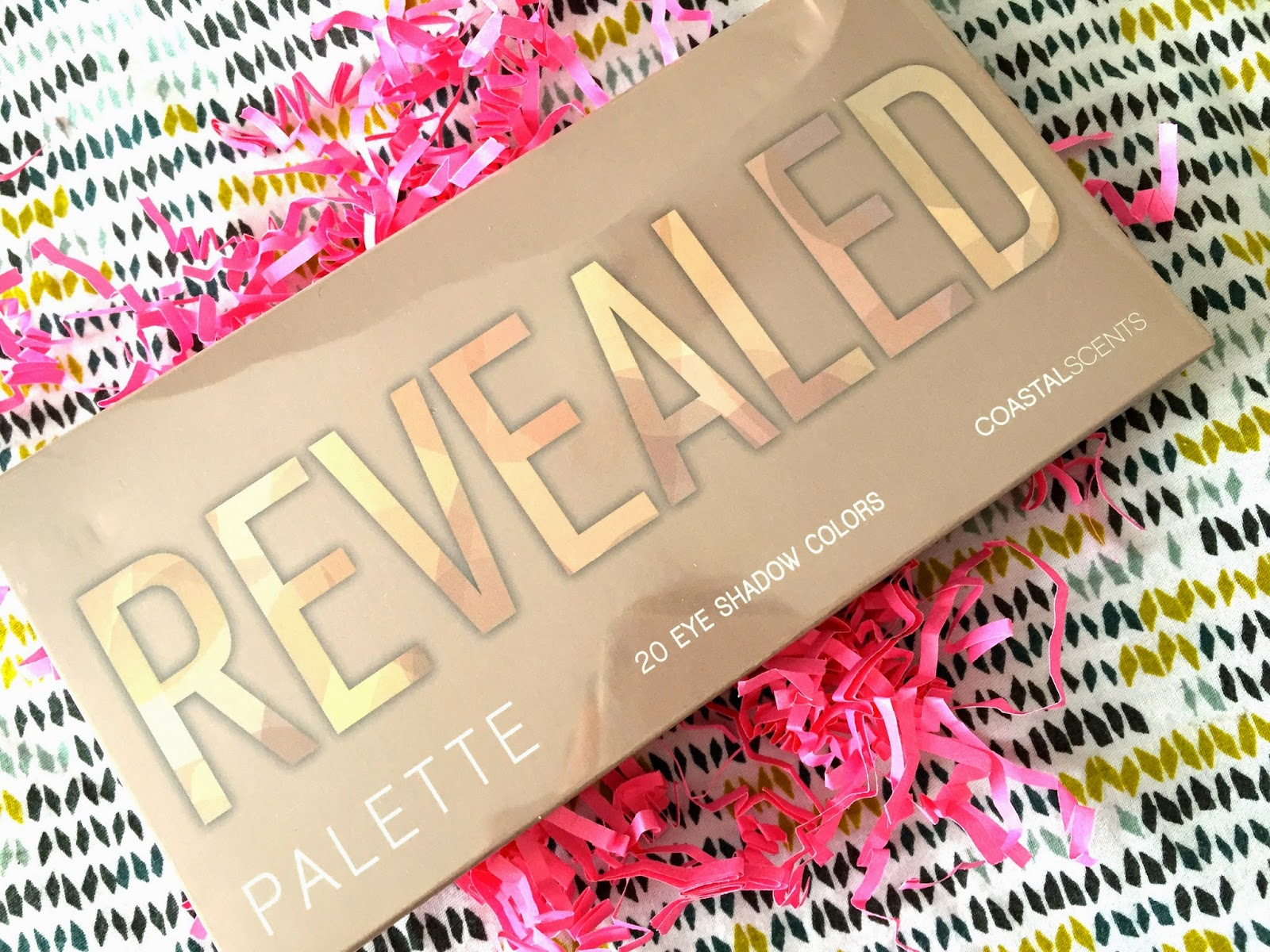 revealed palette, make up