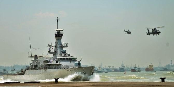 TNI AL akan bangun kekuatan Armada Tengah & Armada Pusat