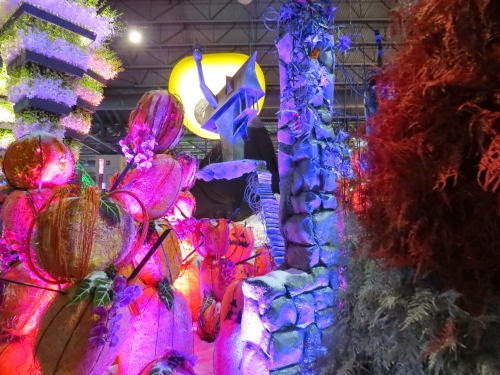 Philadelphia Flower Show 2015 movie theme Nightmare Before Christmas